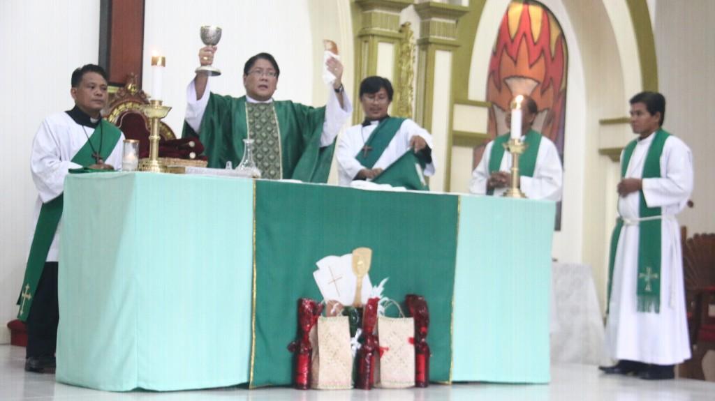 July 3, 2016 - 14th Sunday in Ordinary Time - Bishop Ricardo Alcaraz