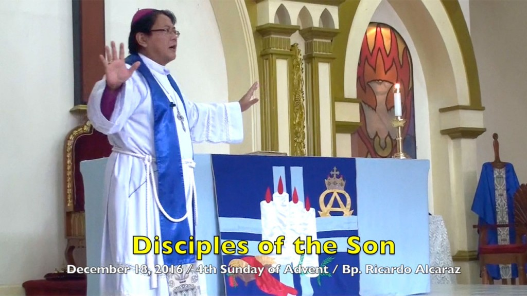 12-18-2016 Bishop Ricardo Alcaraz Homily