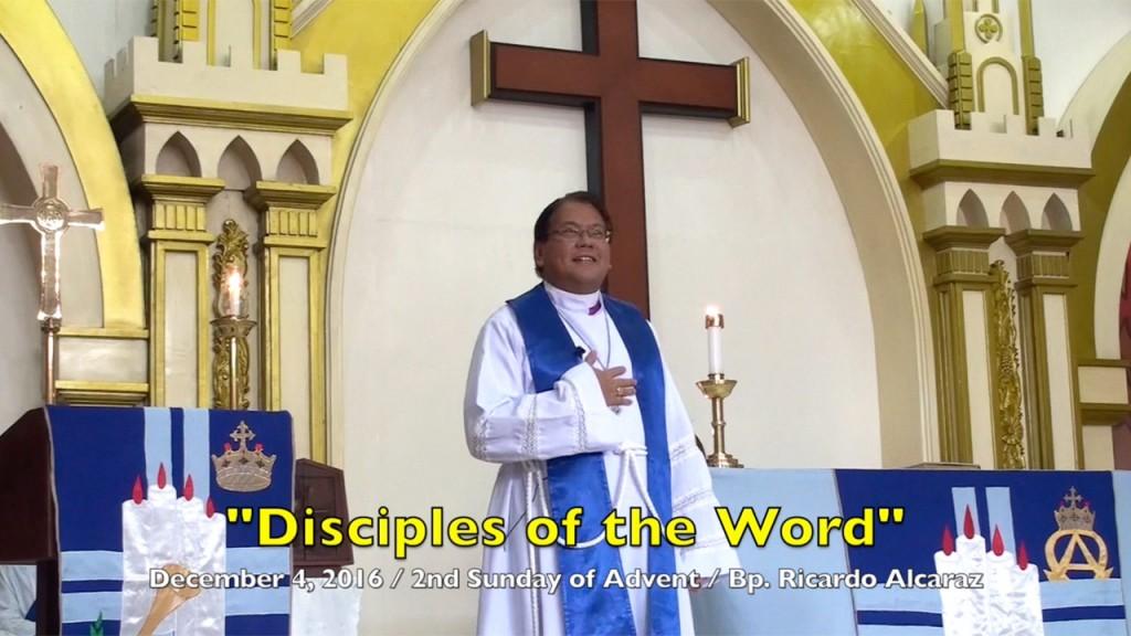 12-4-2016 Bishop Ricardo Alcaraz Homily