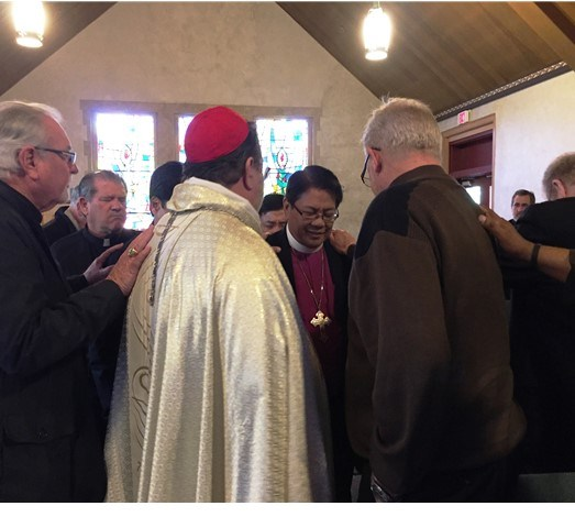 Confirmation of Bishop Ricardo Alcaraz as Primate of CEC-Asia