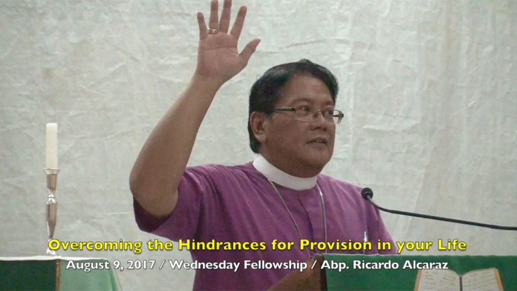 8-9-2017 Abp. Ricardo Alcaraz Teaching