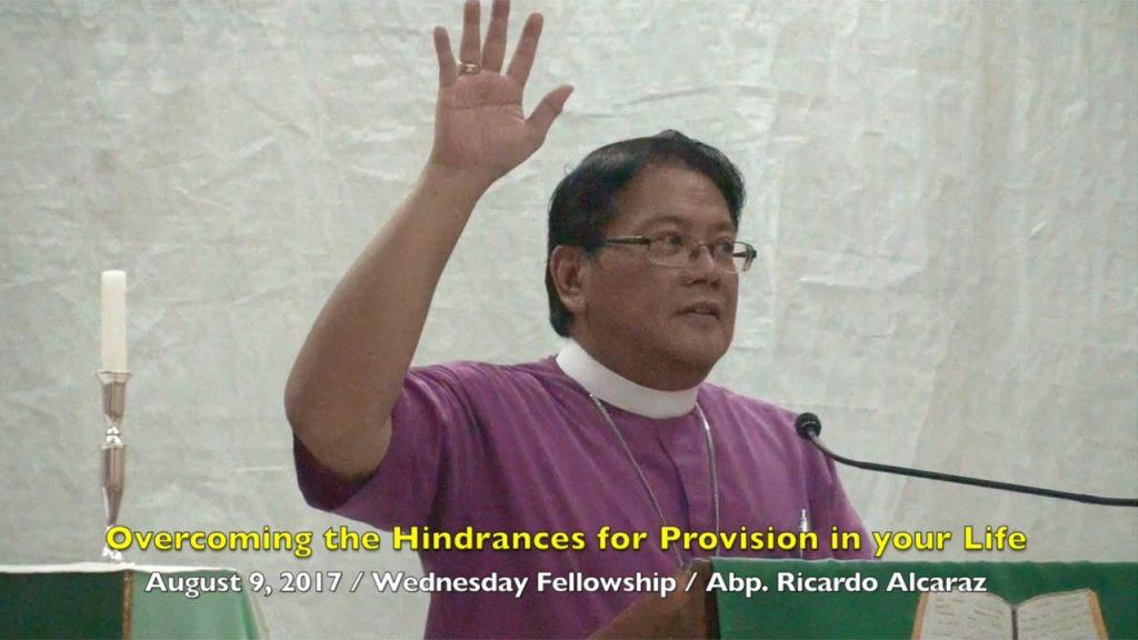 8-9-2017 Abp. Ricardo Alcaraz Teaching