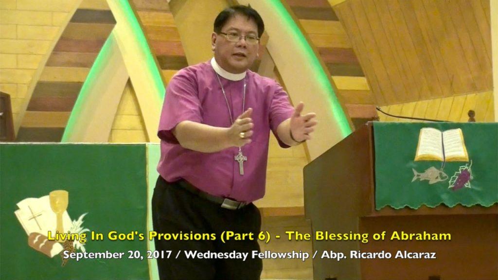 9-20-2017 Abp. Ricardo Alcaraz Sermon